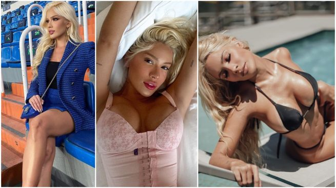 Karoline Lima en sus redes.