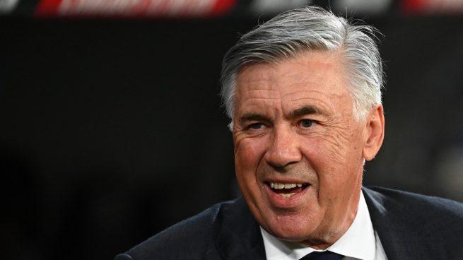 Ancelotti es Míster Champions y 'Míster Flor'