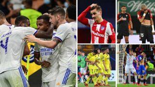 Los cinco equipos españoles en la Champions League 21/22 (AFP)