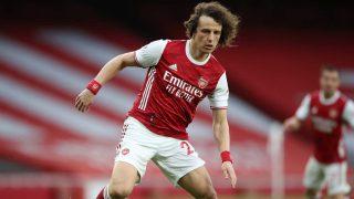 David Luiz, la temporada pasada con el Arsenal (Getty)