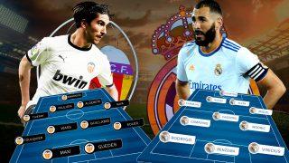 Valencia – Real Madrid: Mestalla busca al líder.