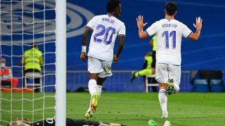 Asensio no celebró sus goles contra el Mallorca. (AFP)