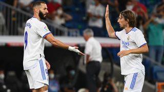 Modric vuelve al once contra el Villarreal. (AFP)