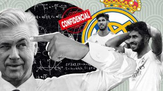 El plan de Ancelotti con Asensio.
