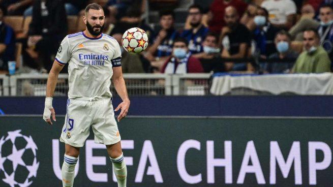 El doble reto de Benzema en la Champions