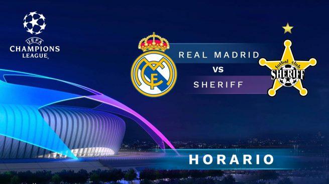 Dónde ver el Real Madrid - Sheriff de Champions League