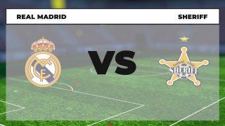 Real Madrid Sheriff dónde ver