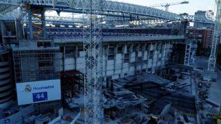 El nuevo Santiago Bernabéu, a vista de dron. (realmadrid.com)