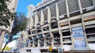 Las cristaleras están desapareciendo del paisaje del nuevo Bernabéu.