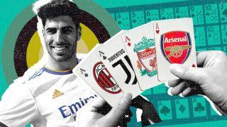 Milan, Juventus, Liverpool y Arsenal están pendientes de Asensio.