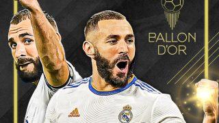 Benzema, candidato al Balón de Oro.