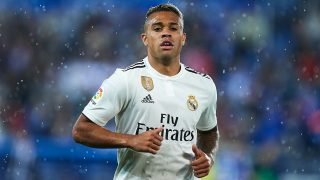 Mariano, durante un partido con el Real Madrid. (Getty)