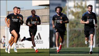 Los jugadores del Real Madrid se entrenan en Valdebebas. (Realmadrid.com)