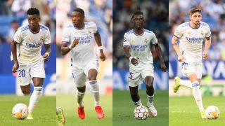 Vinicius, Alaba, Camavinga y Valverde son algunos de los jugadores con las cláusulas más altas (Getty).