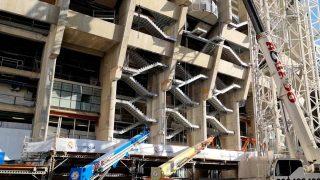 El estadio Bernabéu luce una imagen completamente renovada.