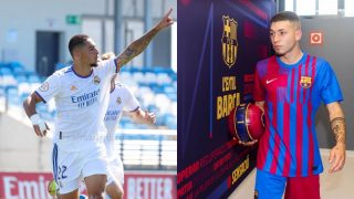 Óscar y Antonio Aranda se verán las caras en el miniclásico entre Castilla y Barcelona B.