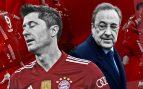 Lewandowski no entra en los planes del Real Madrid