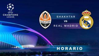 Shakhtar – Real Madrid: jornada 3 de la Champions League.