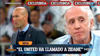Inda: «El Manchester United llamó a Zidane».