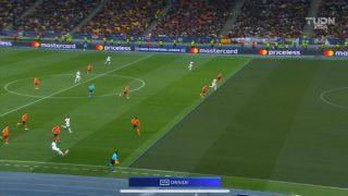 Ceferin tiró las líneas en el gol del Madrid, aunque no tenían motivo para ello.
