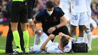 Valverde se lesionó en el Clásico. (AFP)