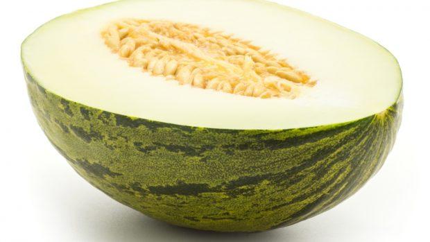 batido cremoso o smoothie de melón