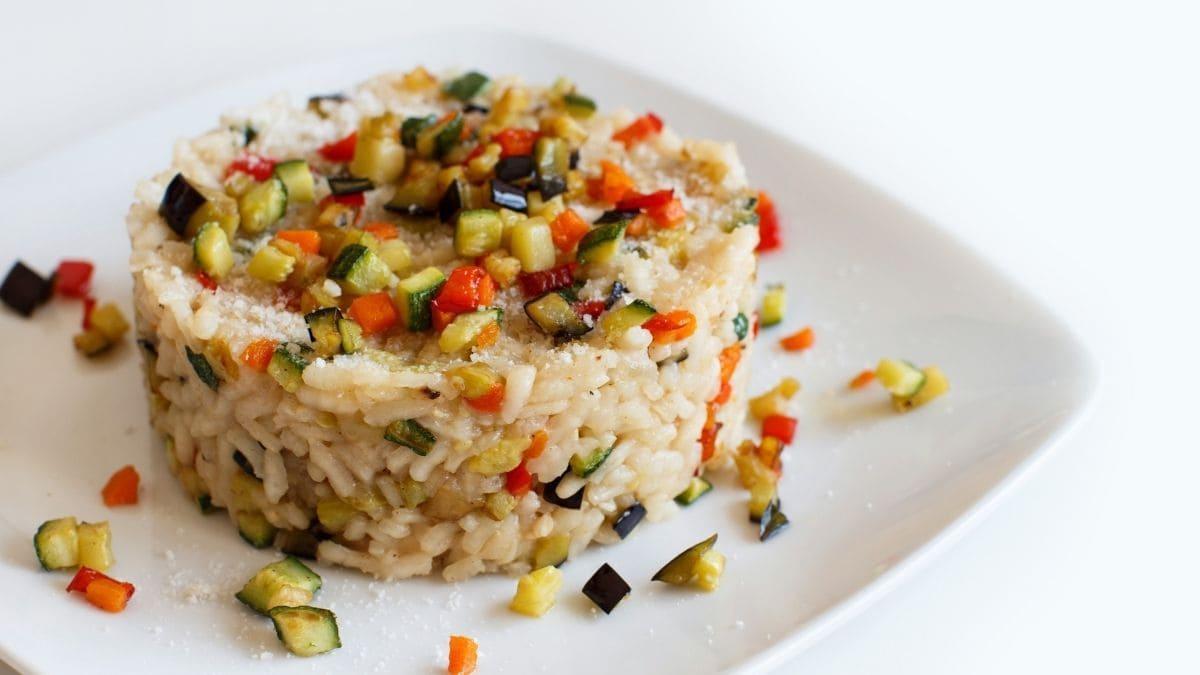 Paso a paso del risotto de verduras