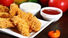 Receta de Brochetas de pollo crujiente
