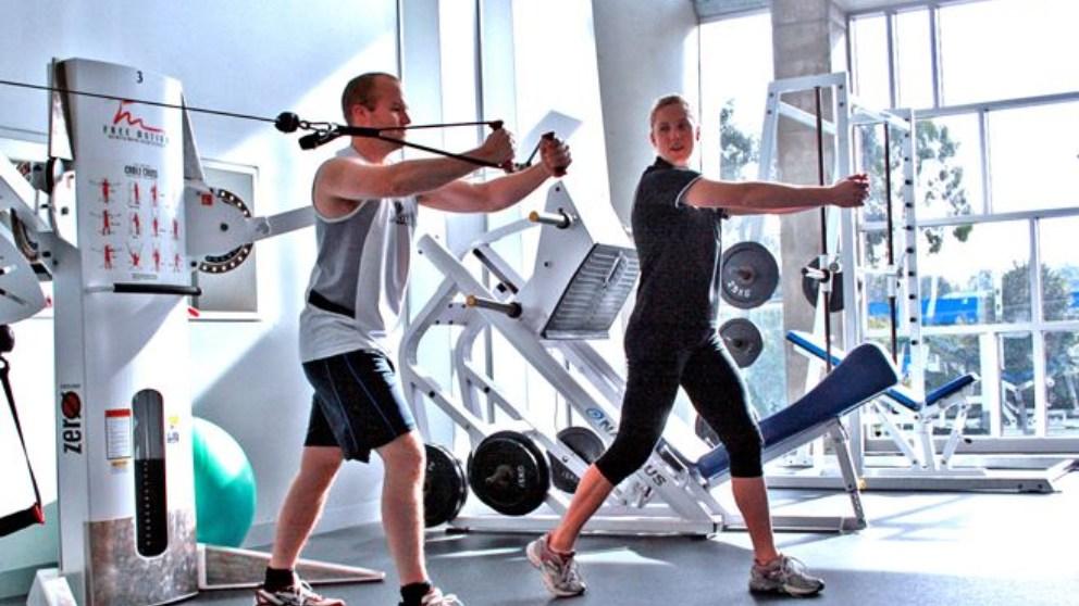 Para lograr buenos resultados en el gimnasio es importante ser constante.