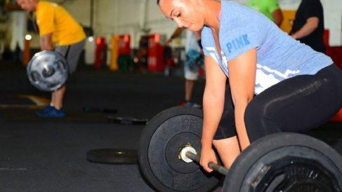 Los ejercicios con pesas son algo complicados.