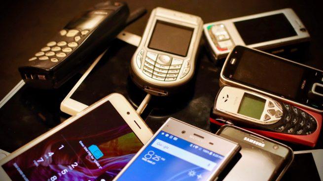 móviles viejos