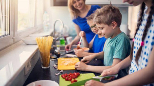 Enseñar a los niños a comer sano