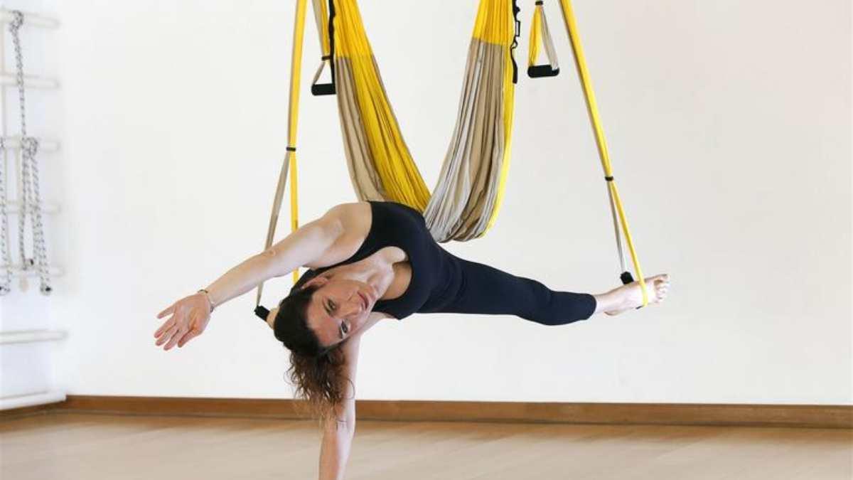 Aeroyoga: beneficios de esta disciplina del yoga