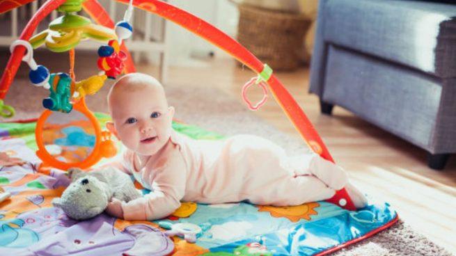 desarrollo psicomotor bebé de 0 a 6 meses