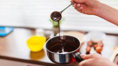 Receta de salsa de chocolate ligera