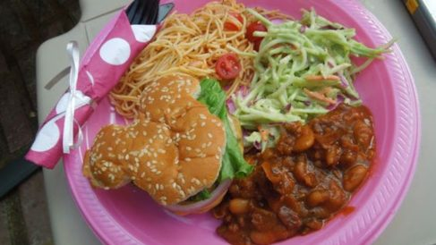 Receta de hamburguesas con forma de Mickey Mouse