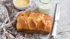 Pan de leche: receta especial para niños