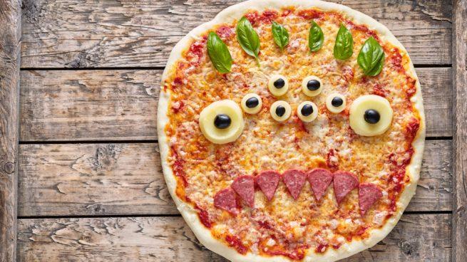 Pizzas Para Niños Con Formas Divertidas