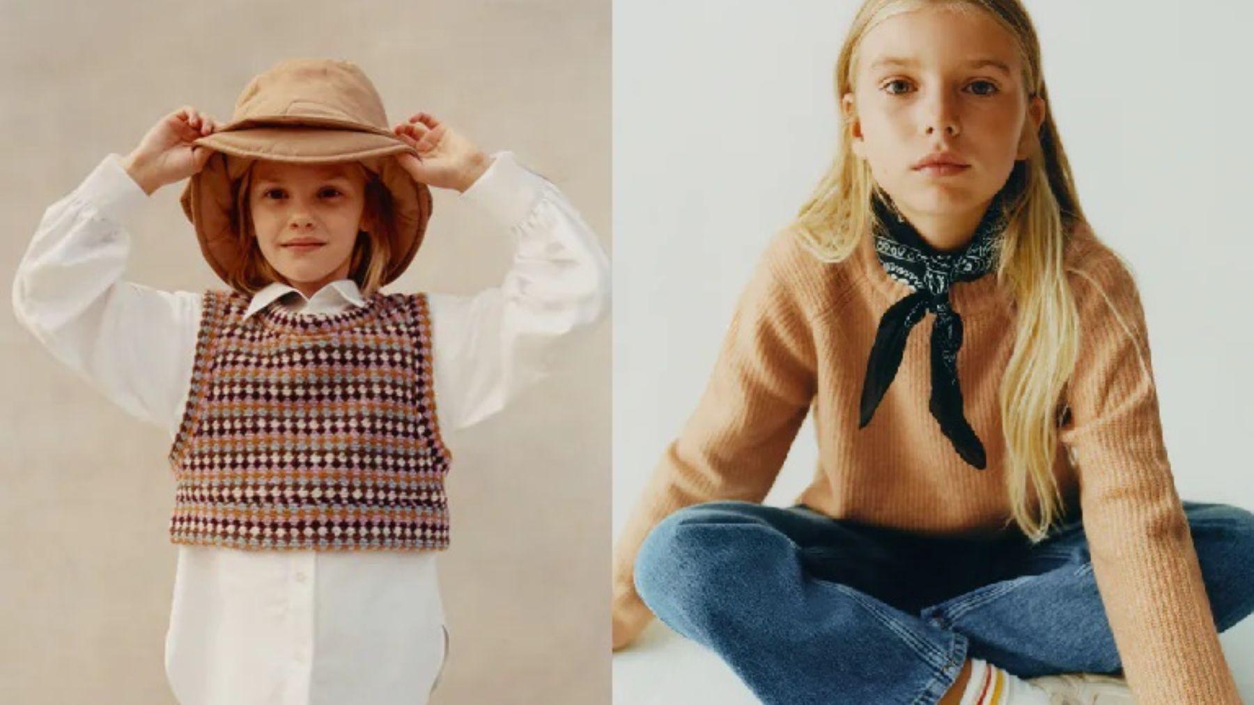 Descubre lo mejor de Zara para niñas en este otoño invierno