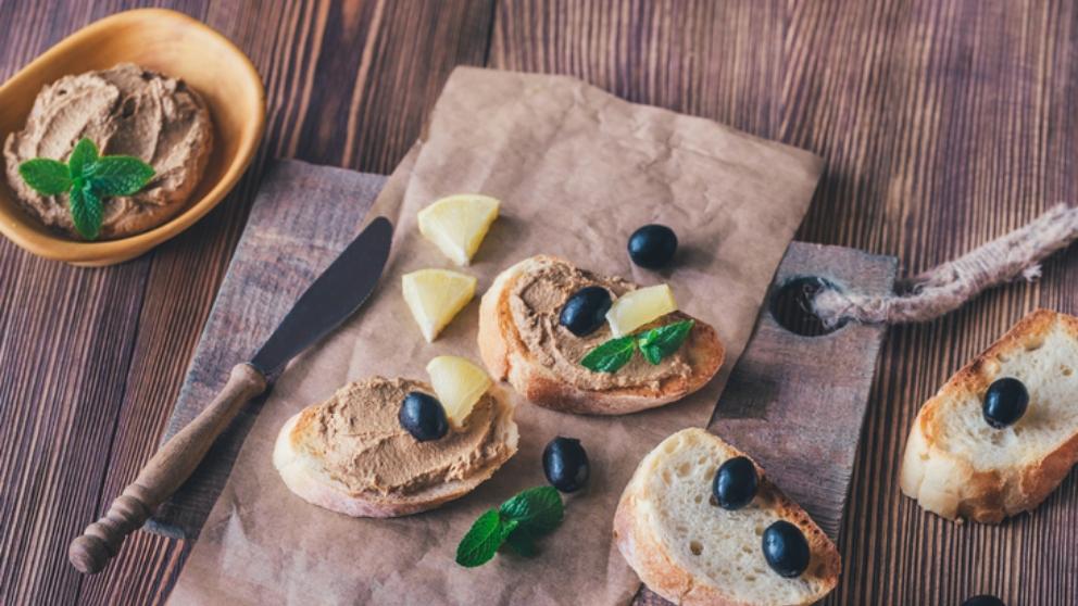 Receta de Paté de aceitunas y anchoas casero