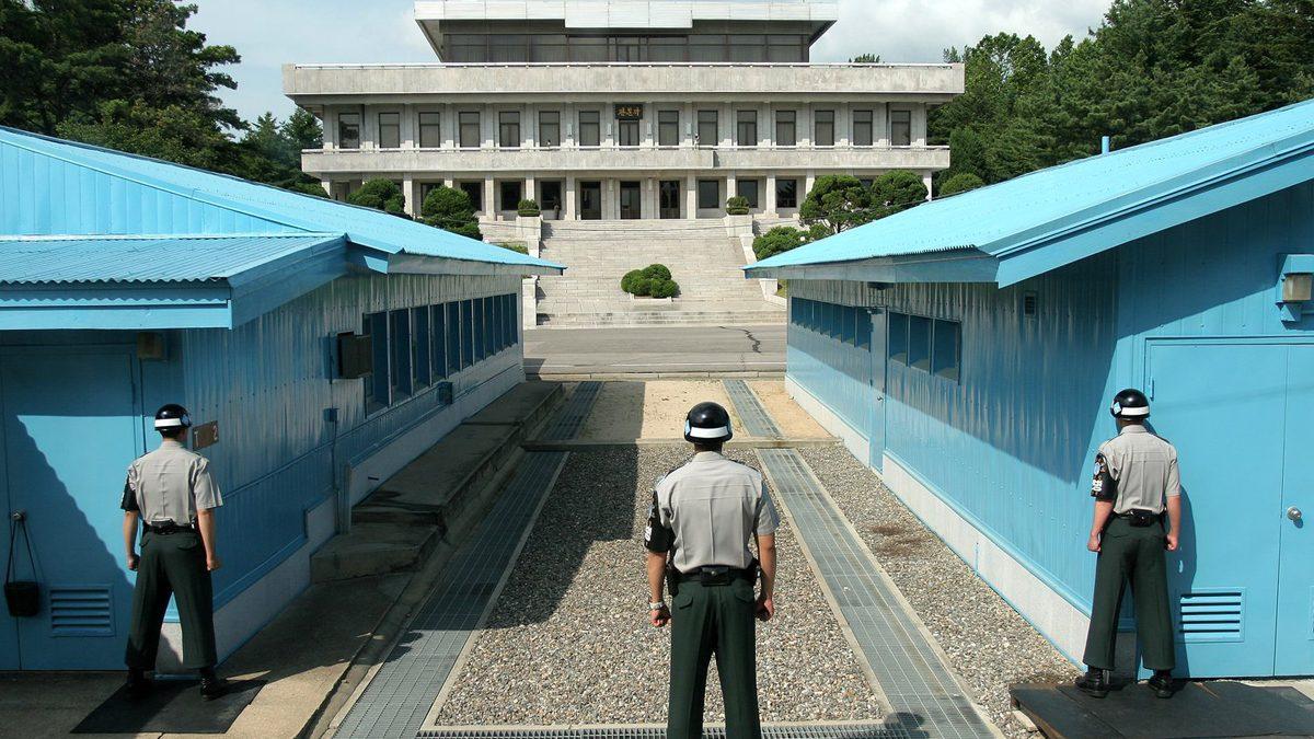 Zona desmilitarizada en la frontera entre las dos Coreas