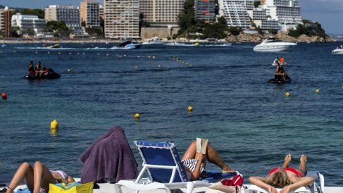 Los datos del turismo extranjero no hacen sino aumentar este verano (David Ramos/Getty)