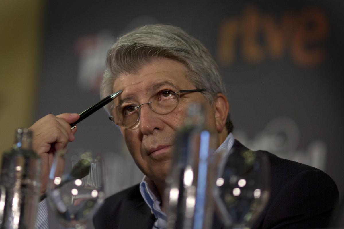 Enrique Cerezo, presidente del Atlético de Madrid y productor de cine  (Sergio Camacho/Getty Images for TNTLA)