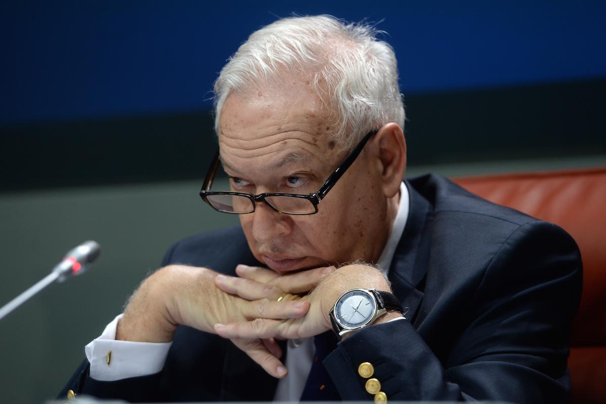 El ministro García-Margallo no se puede creer lo que le está haciendo Montoro (Getty Images)