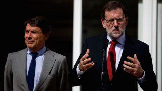 Ignacio González junto a Mariano Rajoy. (Foto: Getty)