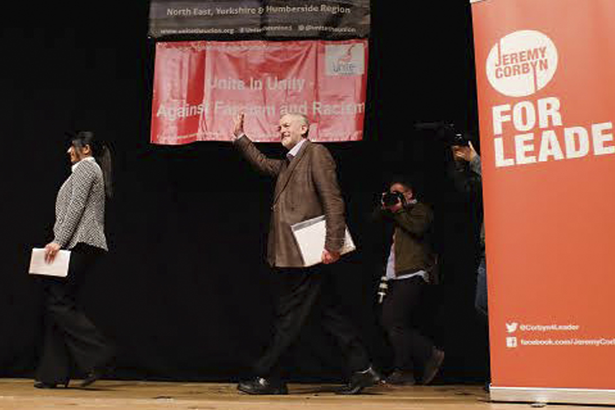 Jeremy Corbyn aspira a llevar la izquierda radical al Partido Laborista en el Reino Unido (Getty Images)