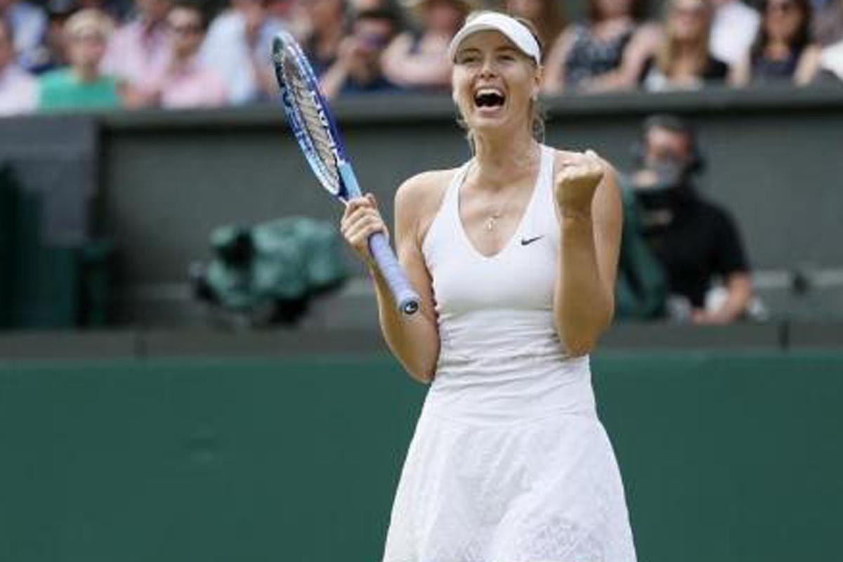 Sharapova, la deportista que más gana por undécimo año seguido según Forbes (Reuters).