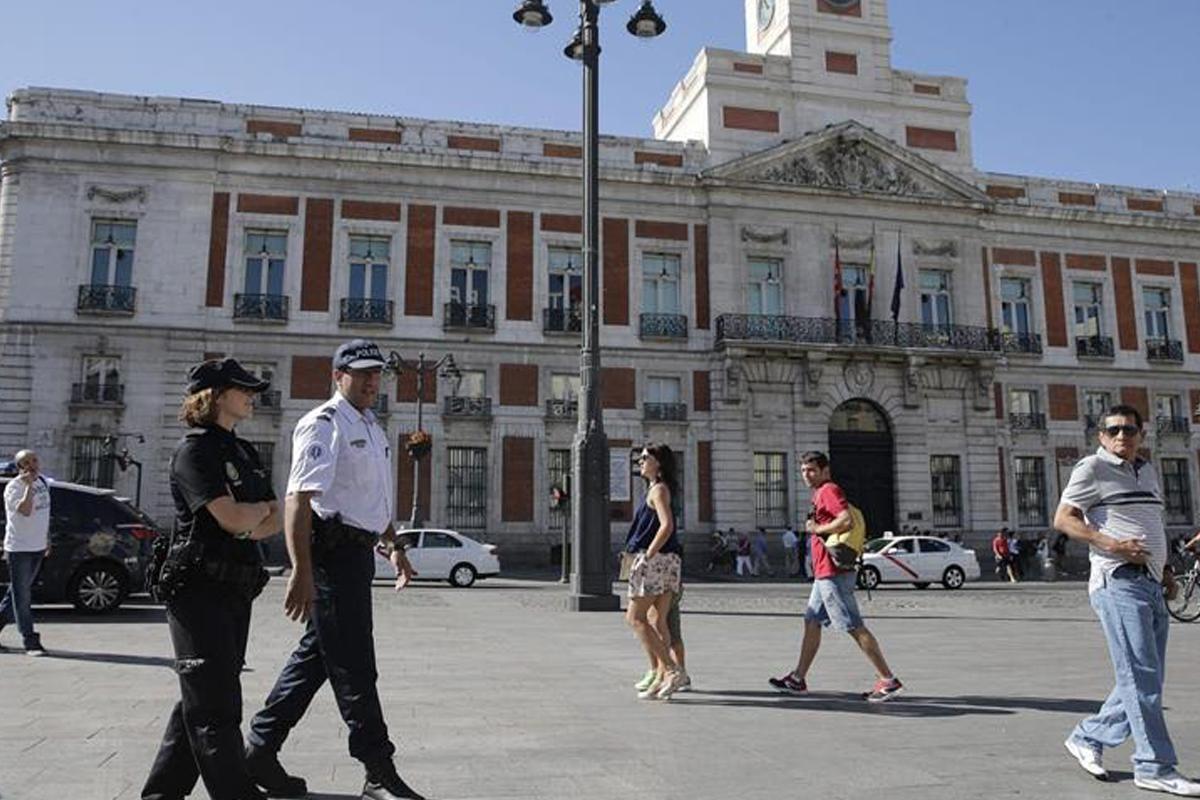 Puerta del Sol de Madrid (Foto: EFE)