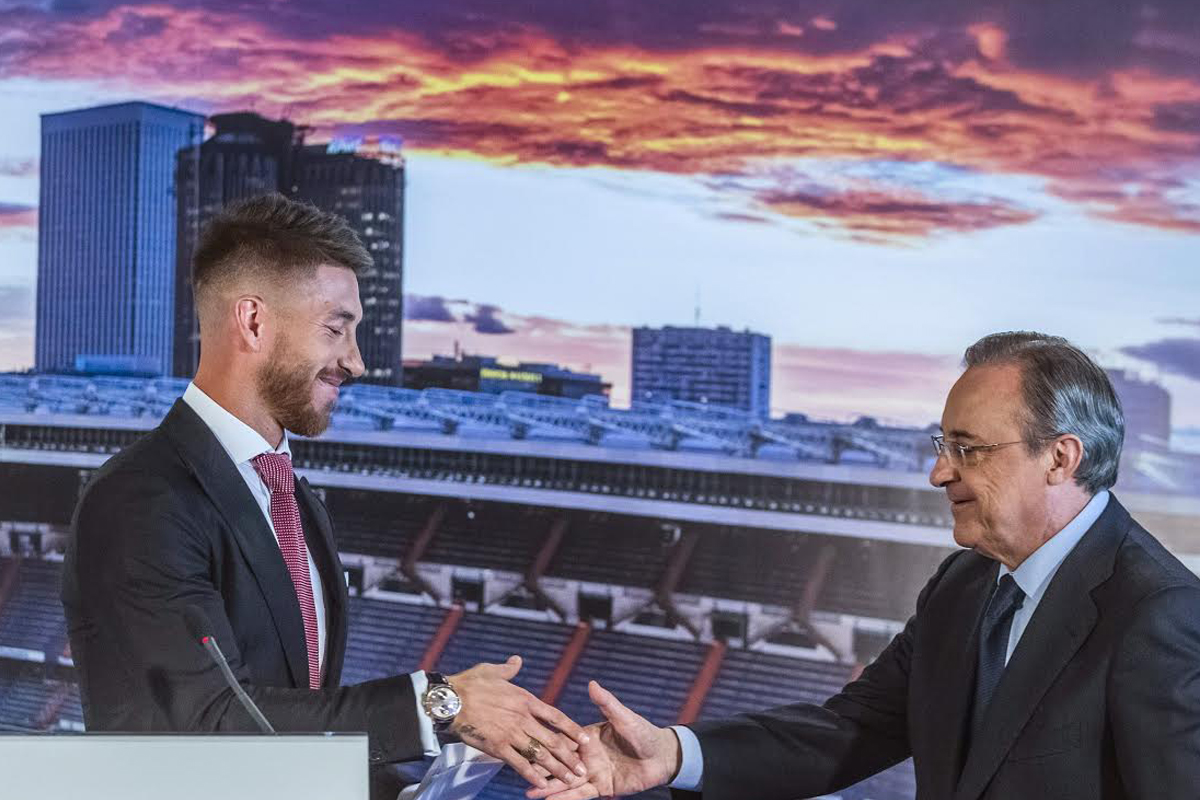 Sergio Ramos seguirá en el Real Madrid hasta 2020 (Foto: EFE).
