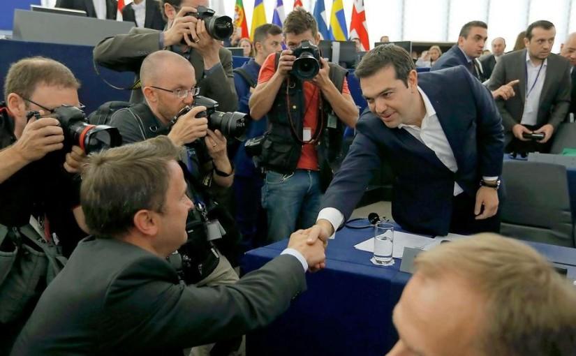 El primer ministro griego Alexis Tsipras sigue buscando soluciones a la crisis griega. (Foto: Der Siegel)